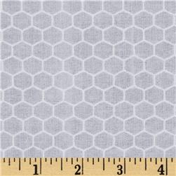 Queen Bee Honeycomb Grey