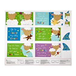 Huggable & Loveable Go To Sleepy Little Sheepy Soft Book Panel
