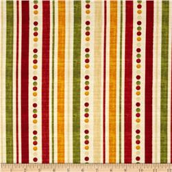 Poppy Love Ticking Stripe Creme