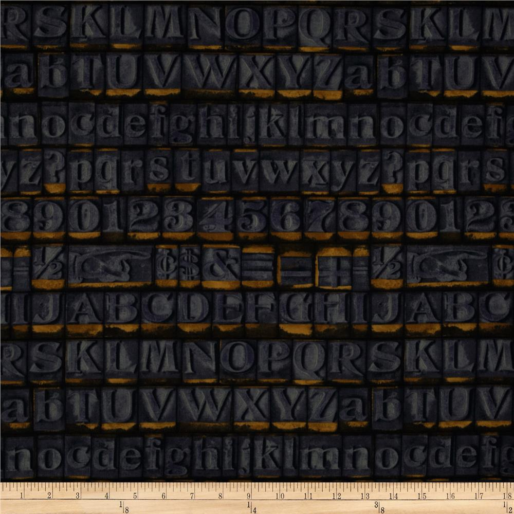 Tim Holtz Eclectic Elements Stamps Blue