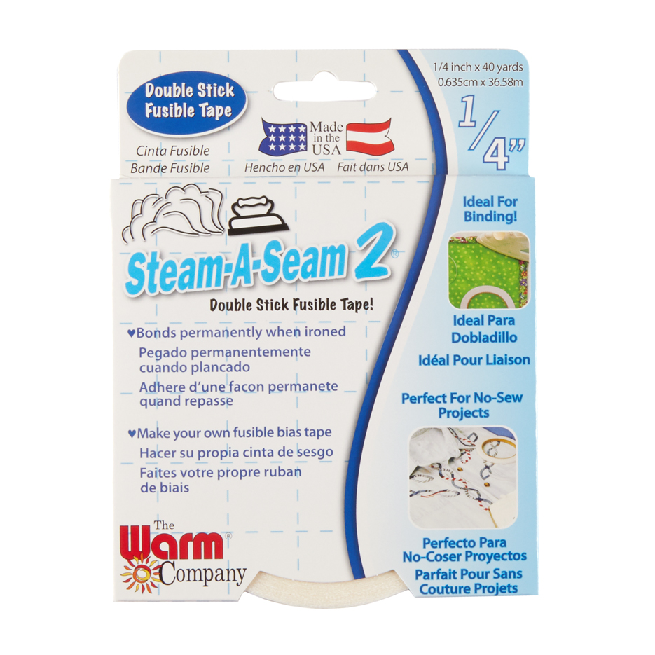 Steam-a-Seam 2 Double Stick Fusible Tape 1/4'' X 40 Yard