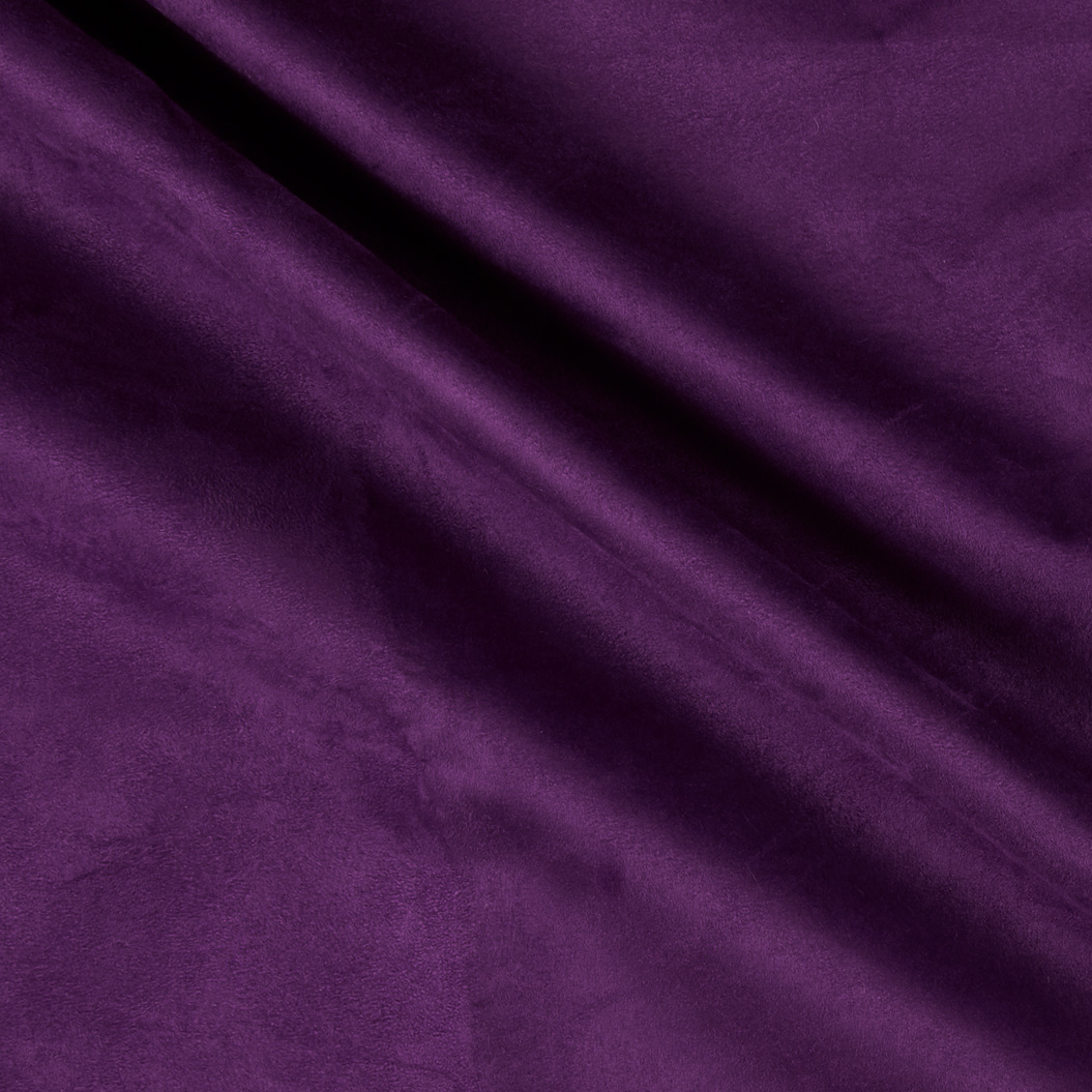 Vintage Suede Plum Fabric by Ben in USA