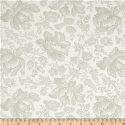 Moda Whitewashed Cottage 108'' Wide Quilt Backs Linen-Pebble