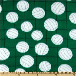 Novelty Fleece Volleyball Green