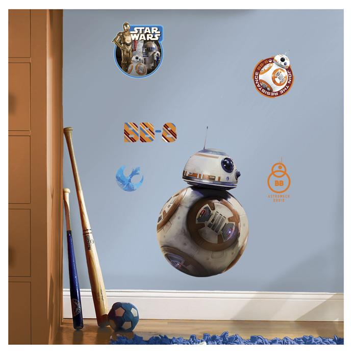 Star Wars Ep VII BB-8 Giant Wall Decal