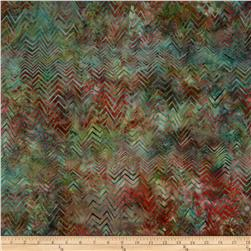Bali Batiks Handpaints Chevron Big Sur