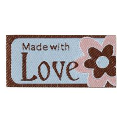 LaMode Lovelabels Made With Love-Flower