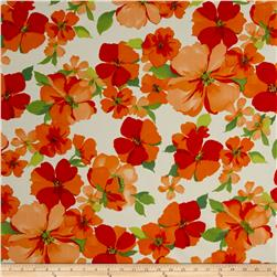 Taffeta Lage Poppy Orange/Cream