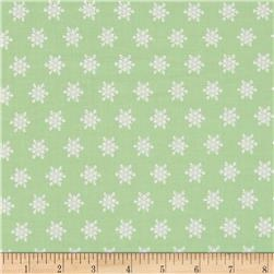 Moda Sugar Plum Christmas Snow Flakes Gumdrop