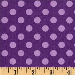 Maywood Studio Kimberbell Basics Dots Violet Tonal