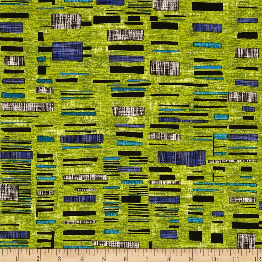 Urban Oasis Urban Tapestry Lime
