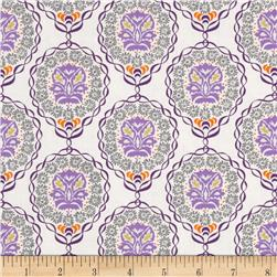 Valori Wells Quill Medallion Strand Fig Lilac