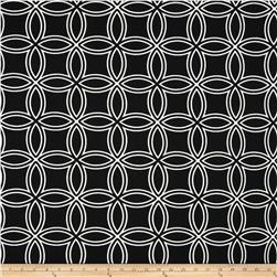 Largo Acrylic Indoor/Outdoor Circles Black