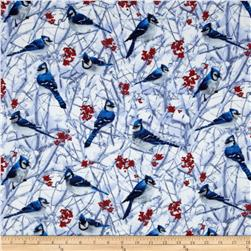 Flannel Blue Jays Snow