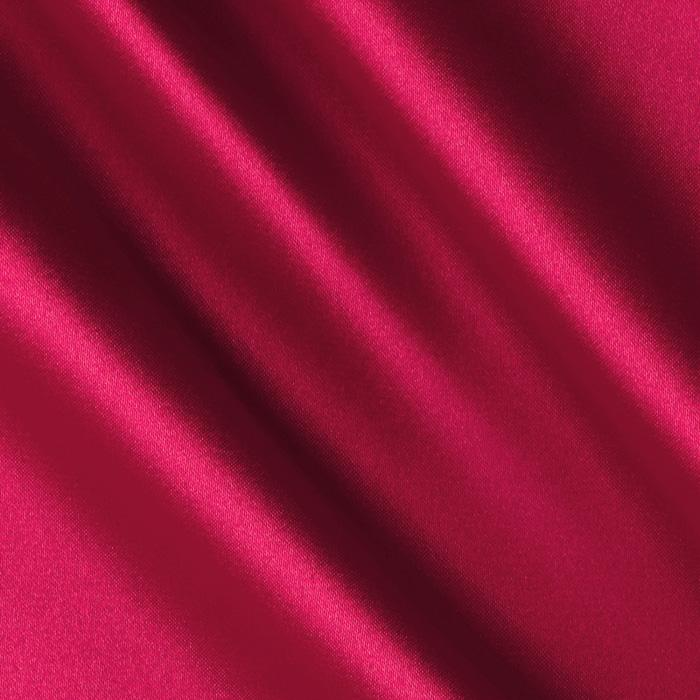 Silky Satin Charmeuse Hot Pink