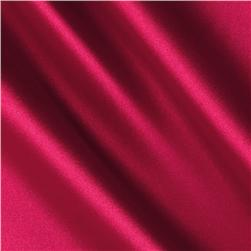 Silky Satin Solid Hot Pink