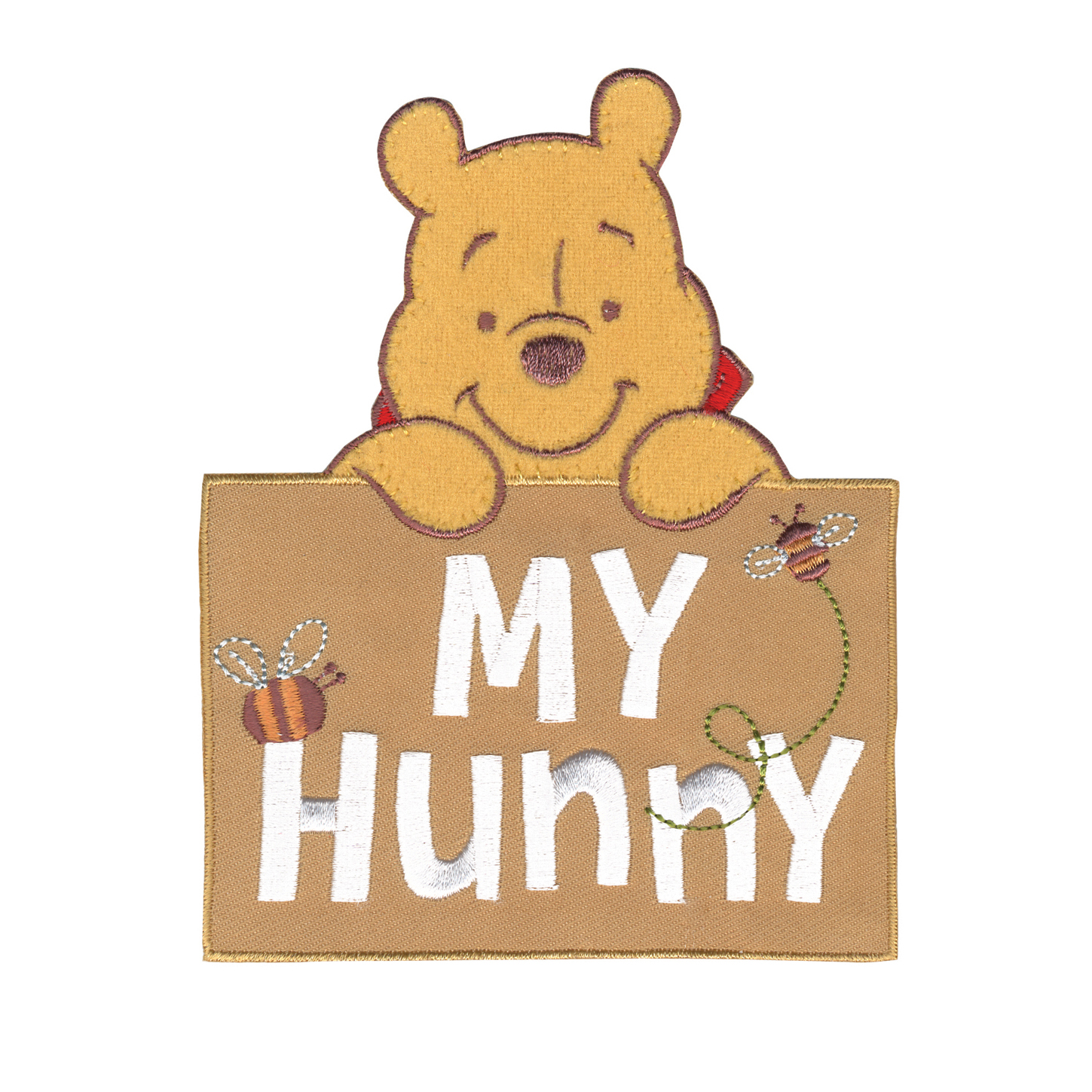 Disney Winnie The Pooh Iron On Applique My Hunny by Notions Marketing in USA