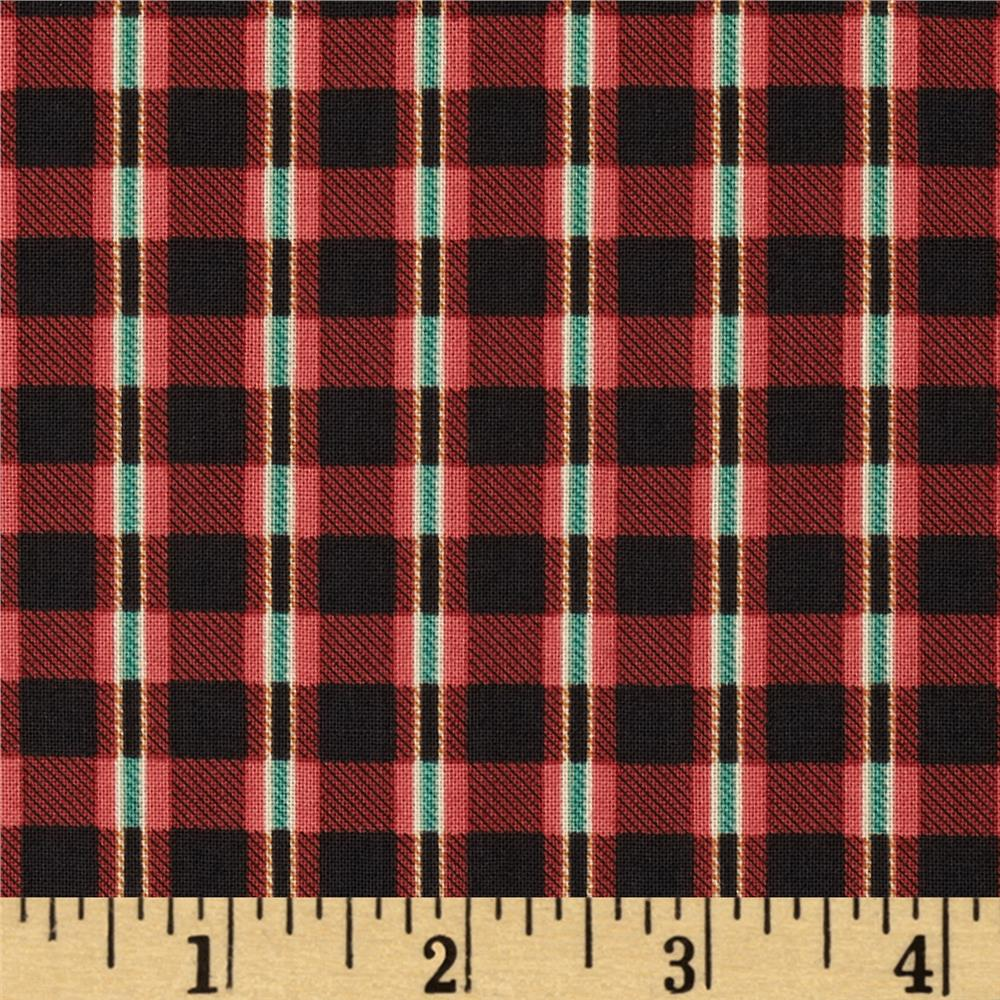 Take The Bait Plaid Red