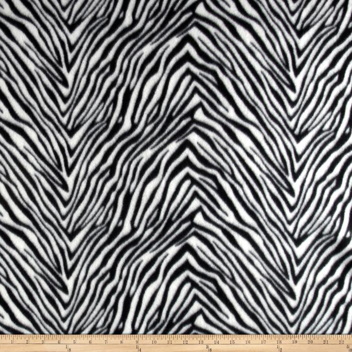 Fleece Skins Zebra Black/White