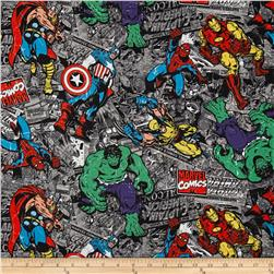 Marvel Comic Strip Group Black/Multi