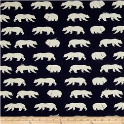 Birch Organic Bear Camp Interlock Knit Bear Hike Dusk