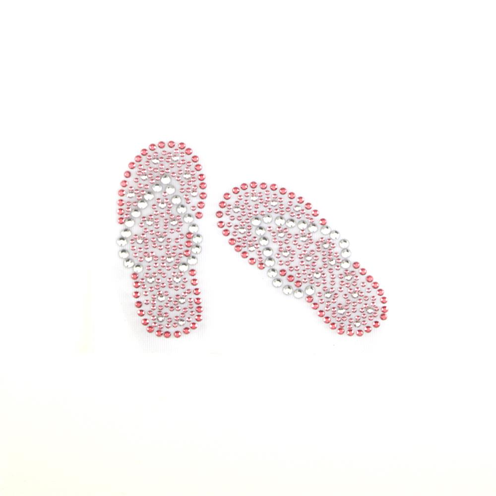 Flip Flops Applique Pink