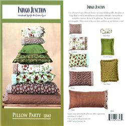 Indygo Junction Pillow Party Pattern