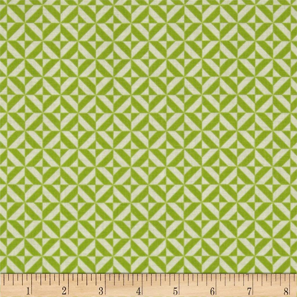 Riley Blake Fun & Games Geometric Green