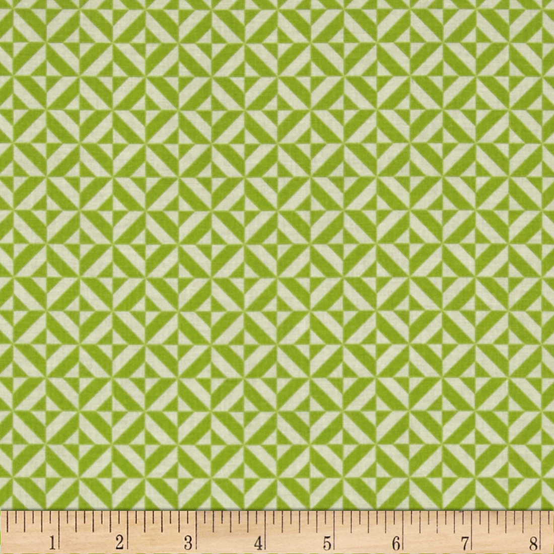 Riley Blake Fun & Games Geometric Green Fabric