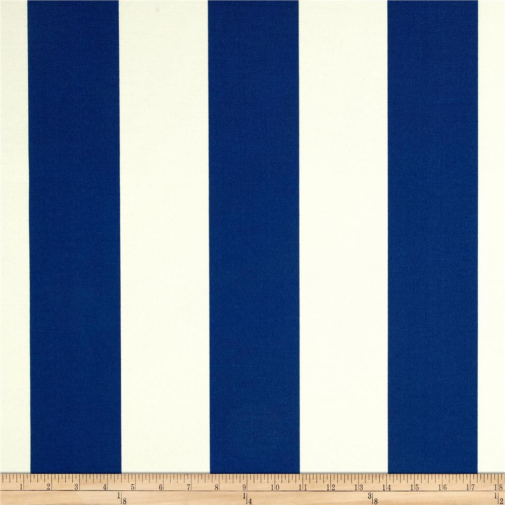 Richloom Solar Outdoor Cabana Stripe Cobalt