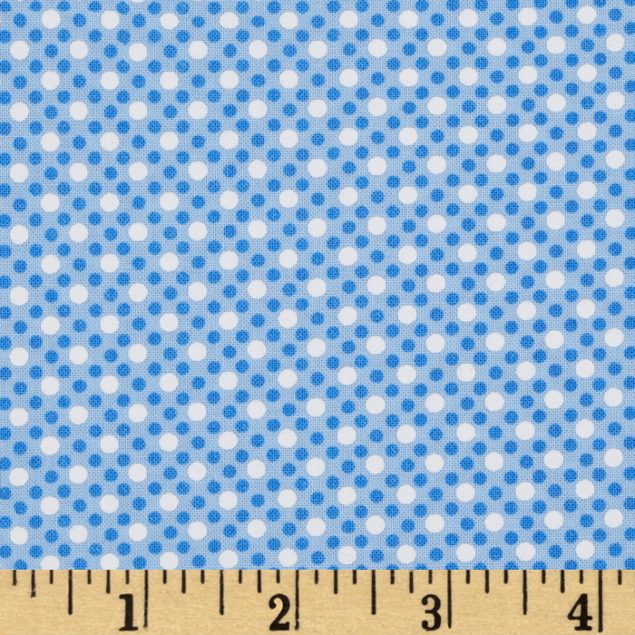 Michael Miller Dim Dots Sailor Fabric