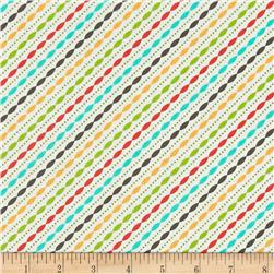 Moda LuLu Lane Petal Stripe Multi
