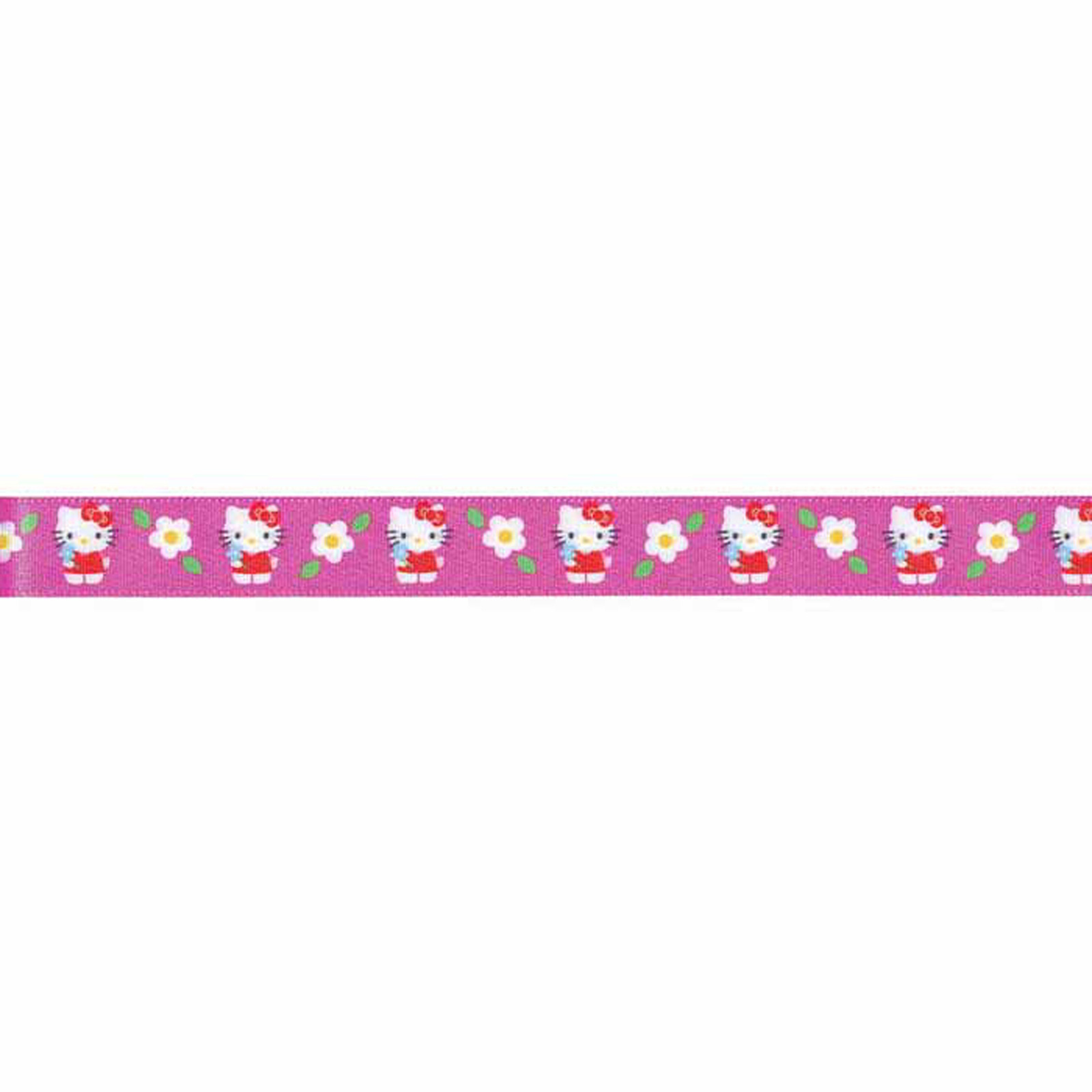 7/8'' Hello Kitty Ribbon Hot Pink by Stardom Specialty in USA