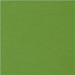 Dreamland Flannel New Solids Green Apple Fabric