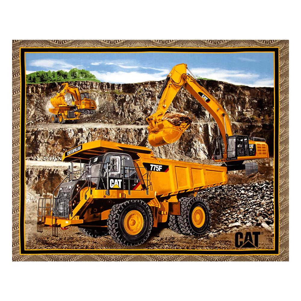 Caterpillar Building Roads 36 In. Panel Multi