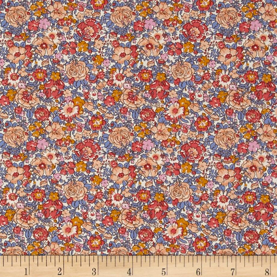 Liberty of London Classic Tana Lawn Amelie Pink/Blue