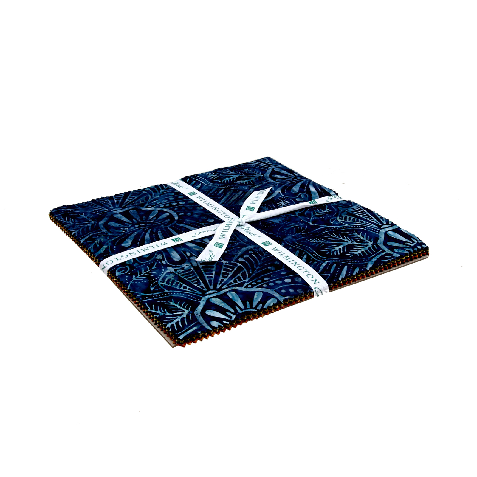 Wilmington Batiks Light My Sapphire 10'' Squares by MM Fab in USA