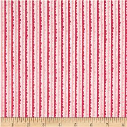 Riley Blake Snapshots Stripes Pink Fabric