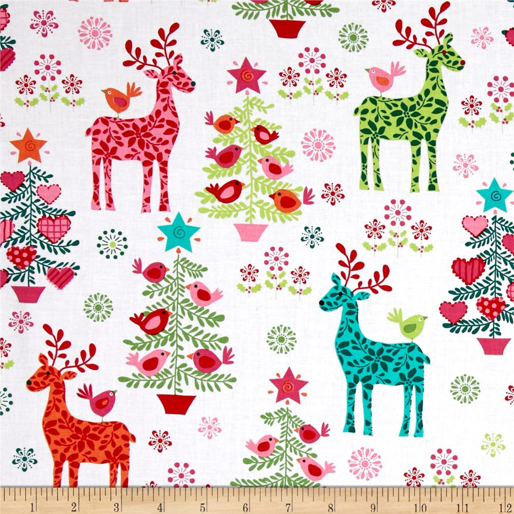 michael miller nordic holiday discount designer fabric