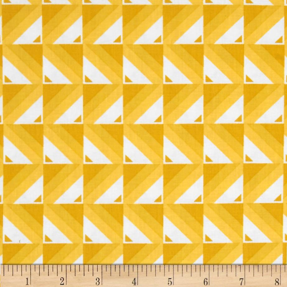 Moda Simply Colorful Ombre Blocks Yellow