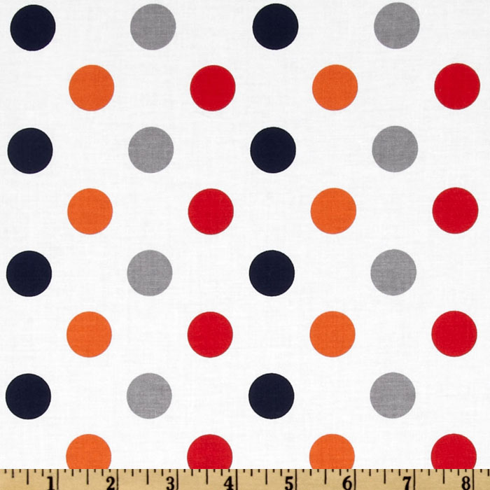 Riley Blake Dots Medium Boy Fabric