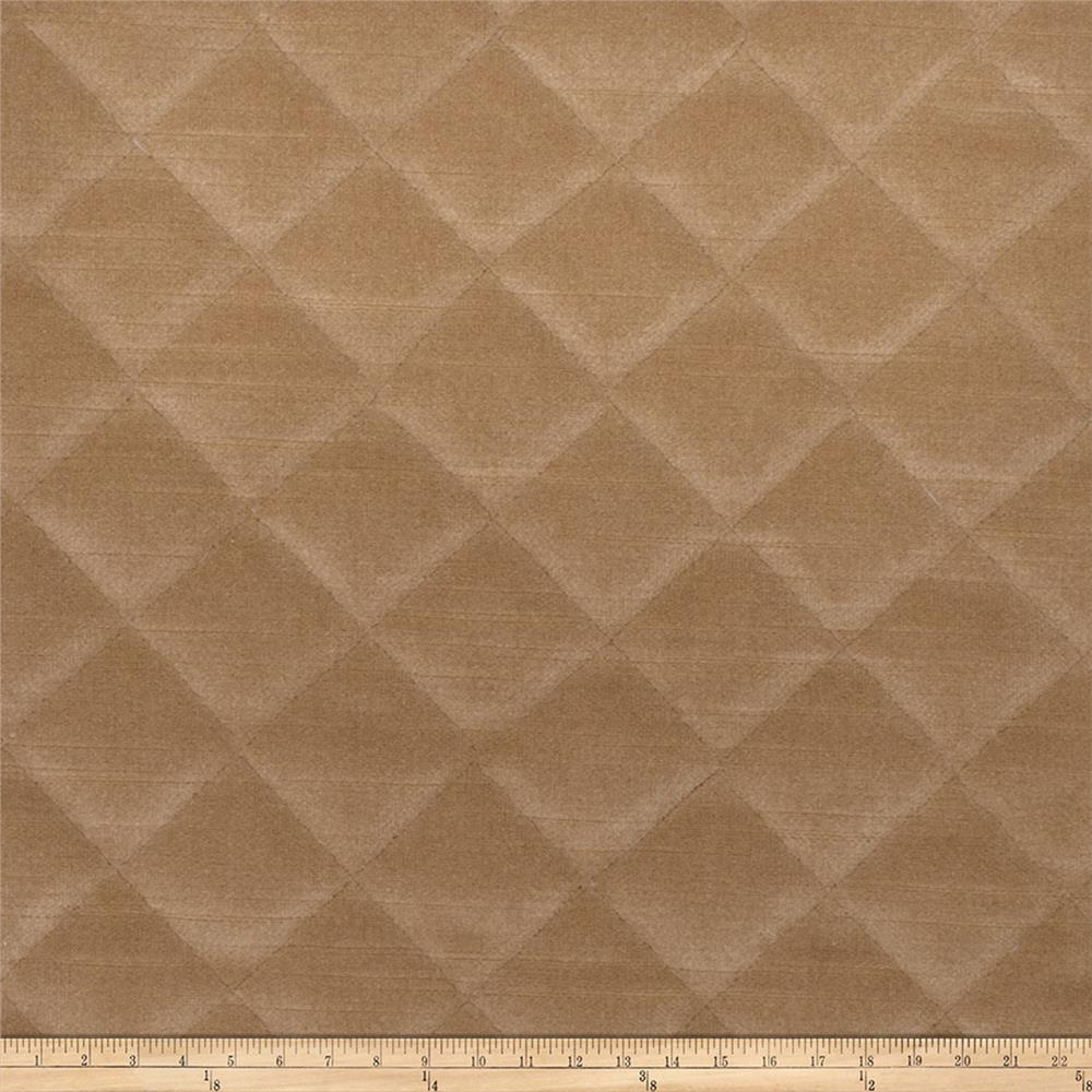 Fabricut quilted velvet pebble discount designer fabric for Velvet fabric