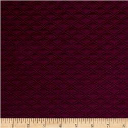 Telio Double Knit Quilt Patch Plum