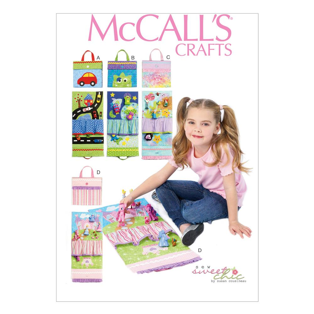McCall's Travel Toy Mat Pattern M6934 Size OSZ