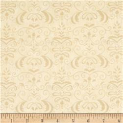 Moda Forest Fancy Autumn Damask Cream