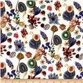 Liberty of London Kensington Crepe de Chine Floral Earth Multi