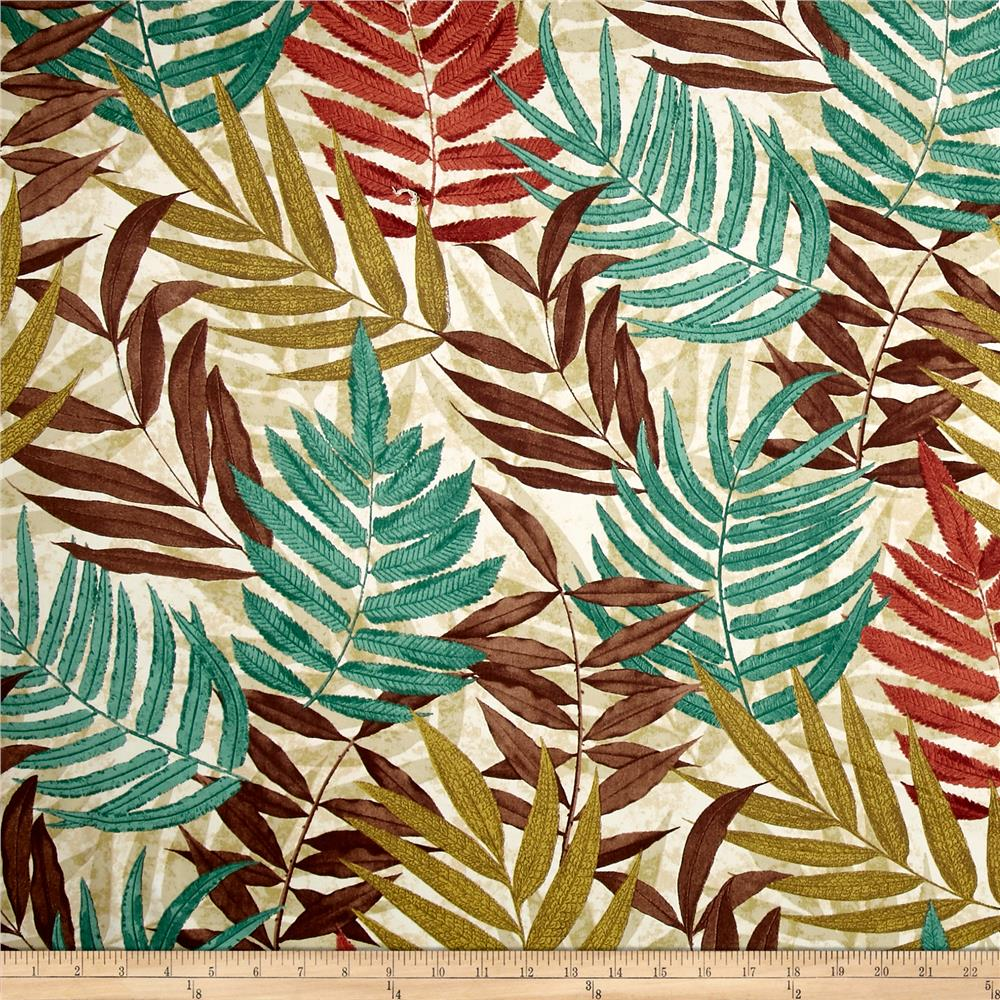 Brown And Green Home Decor Fabric Shop Online At