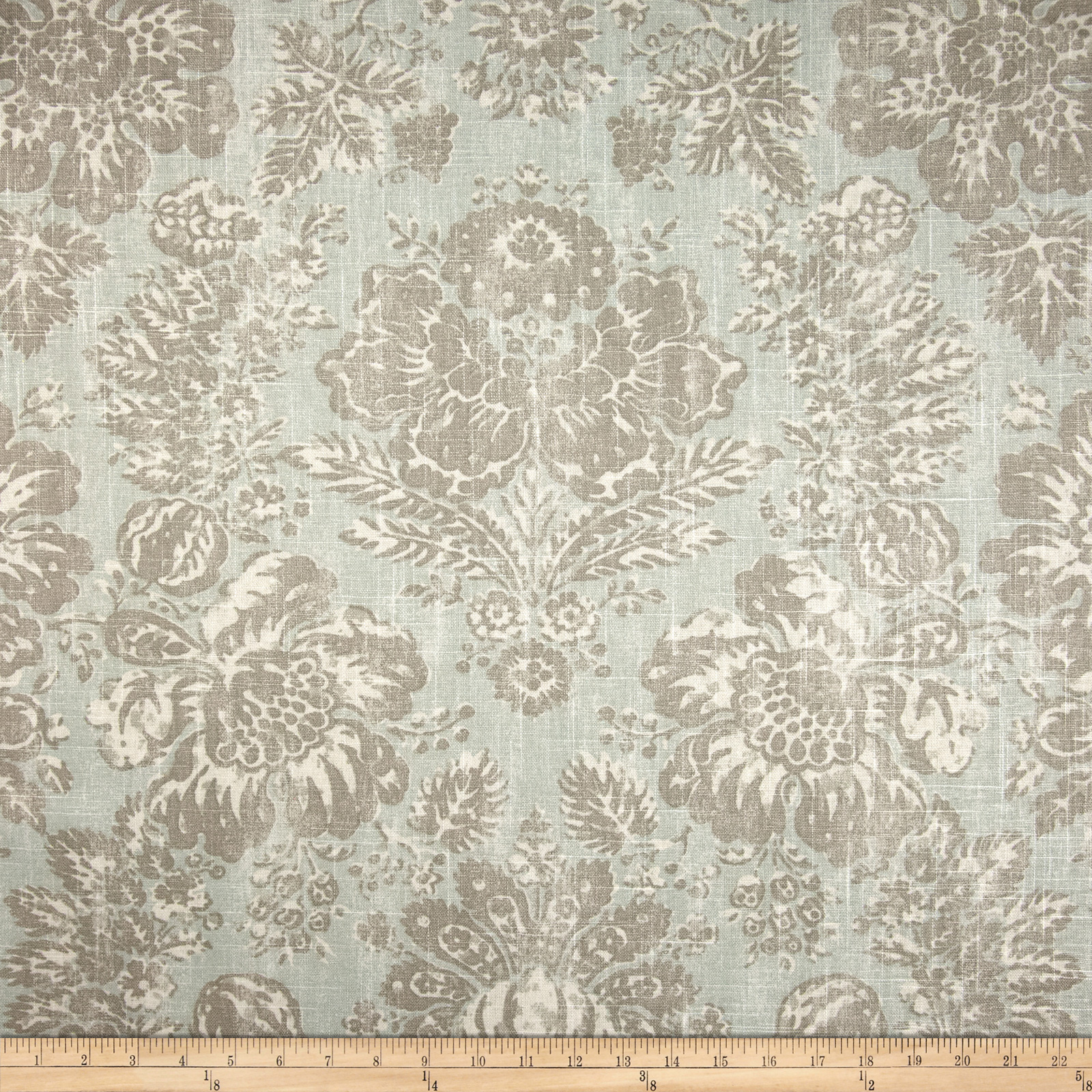 Braemore Keepsake Linen Blend Aquamarine Fabric