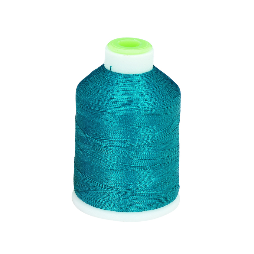 Picture of Coats  Clark Trilobal Embroidery Thread 1100 YD Blue Turquoise