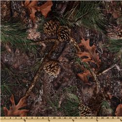 True Timber Outdoors Camouflage Mixed Pine Supertwill Fabric